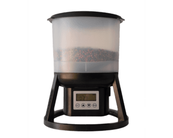 automatic fish feeder for medium and big pond